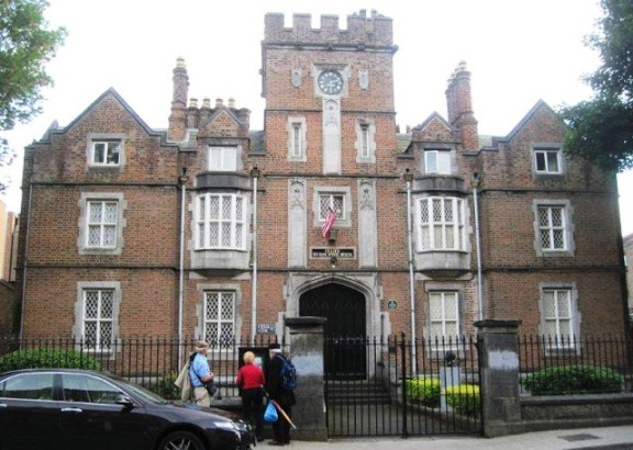 Leamy School in Limerick from Angela's Ashes by Frank McCourt