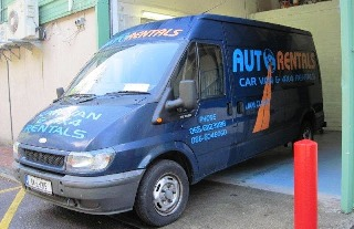 van hire for expats