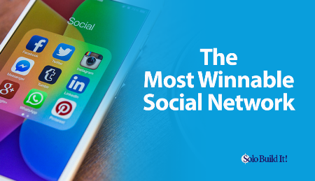 Most Winnable Social Network
